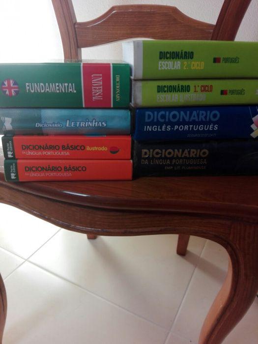 Dicionários vários