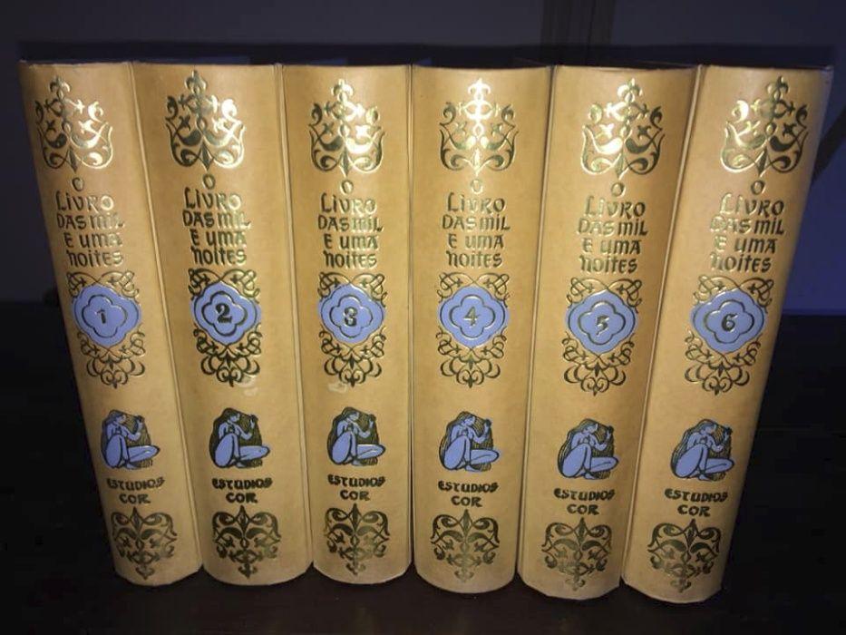 O Livro das Mil e Uma Noites (Estúdios Cor 1958/62) (6 Volumes)