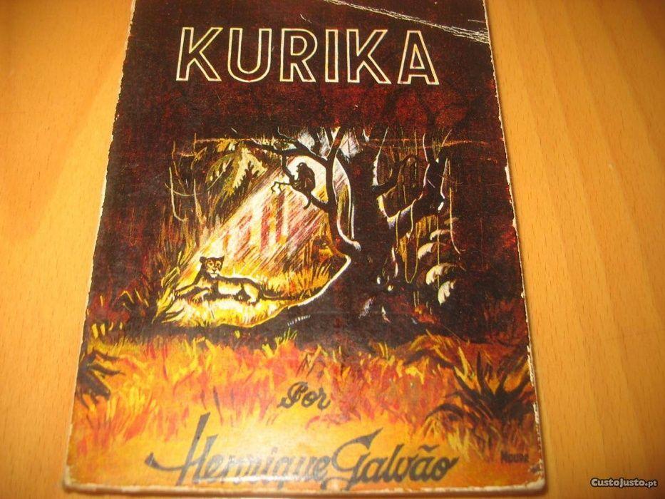 livro Kurika - Henrique Galvão