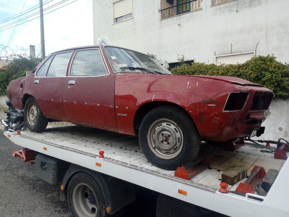 Opel Rekord D Classico Antigo