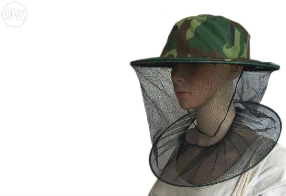 Chapéu de apicultor com rede para trabalhar com abelhas apicultura