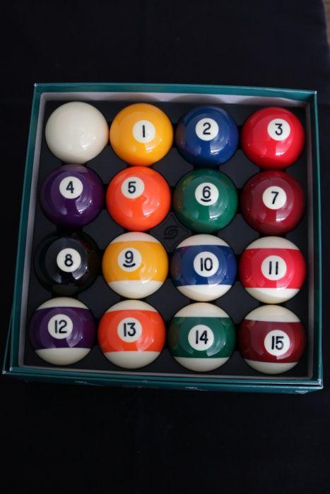 Bolas BELGAS Aramith Novas de Snooker