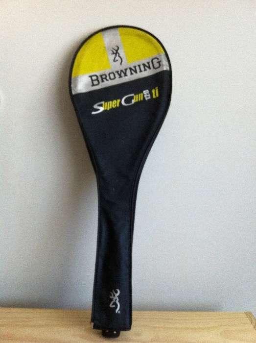 Raquete Squash Browning Super Gun TI 120 - ORIGINAL
