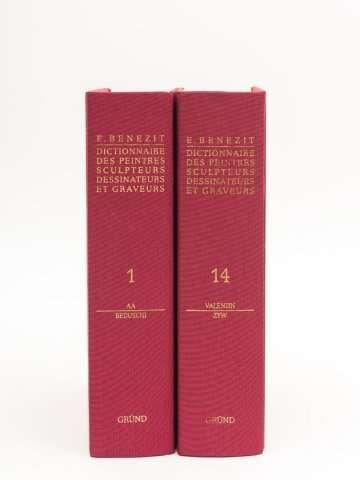 Benezit ( Emanuel ) Dictionnaire des Peintres Sculpteurs