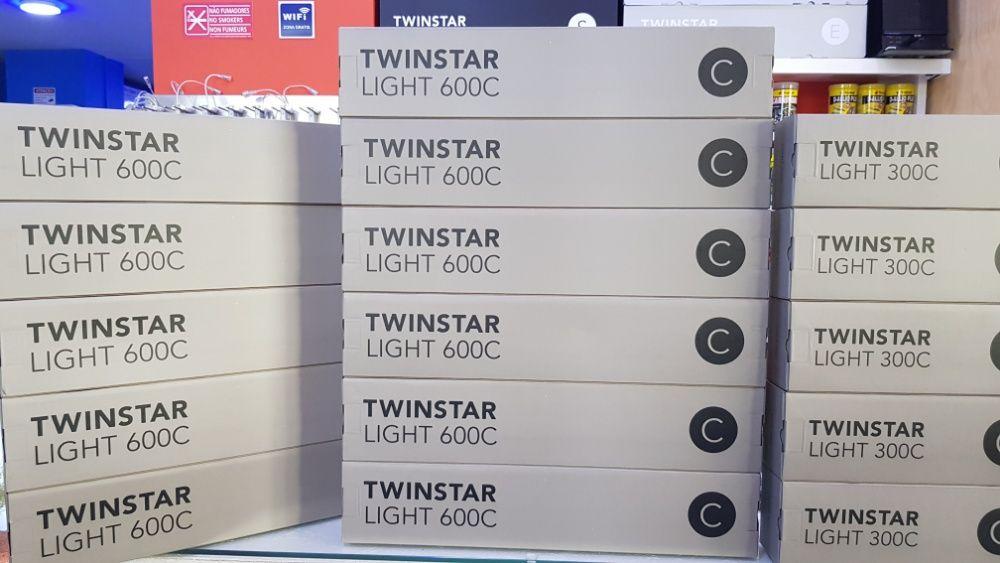 Calha led Twinstar 600C para aquario plantado