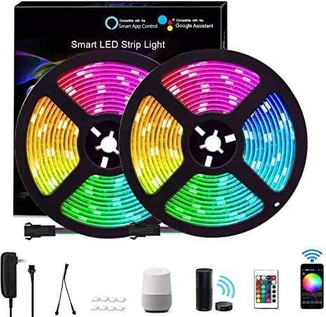 Smart LED Strip Feican RGB 5M Google Home / Amazon Alexa