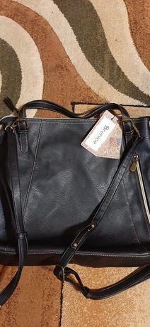 Skórzana torebka firmy Brenice
