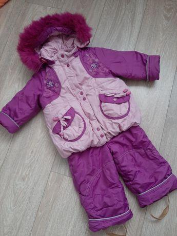 Зимний  комбинезон для девочки /зимний костюм
