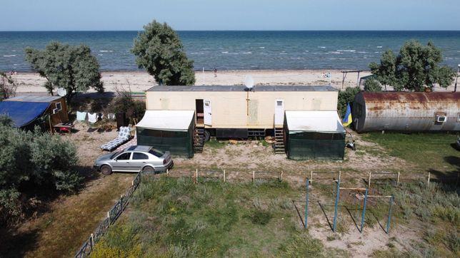Домики посуточно, отдых у моря, Арабатская стрелка пансионат Березка