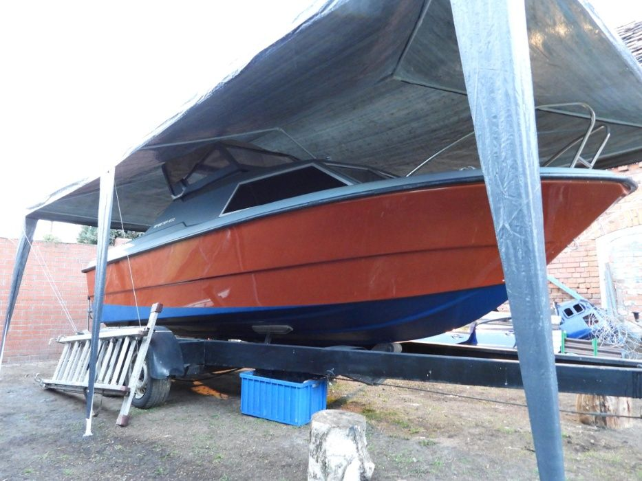 łódź motorowa kabinowa , motorówka wędkarska - onedin shetland romana