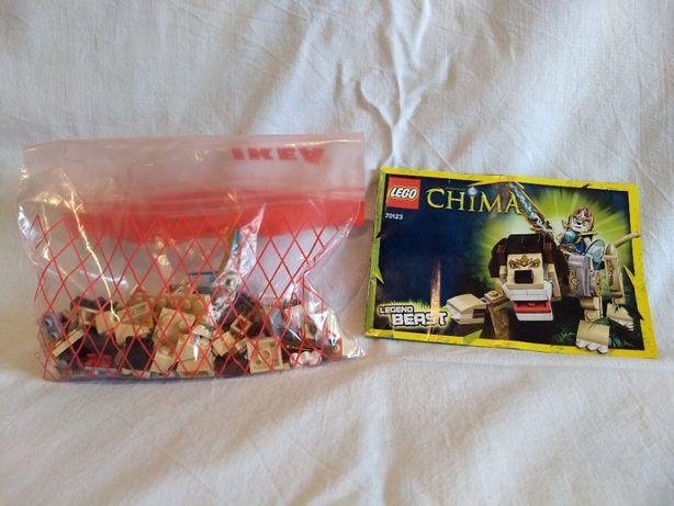 LEGO Chima 70123 i 70125 komplet instrukcja bez pudełka