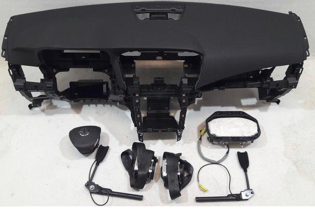 Opel Zafira tablier airbags cintos