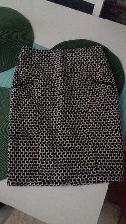 Ciepła spódnica ołówkowa r. 38