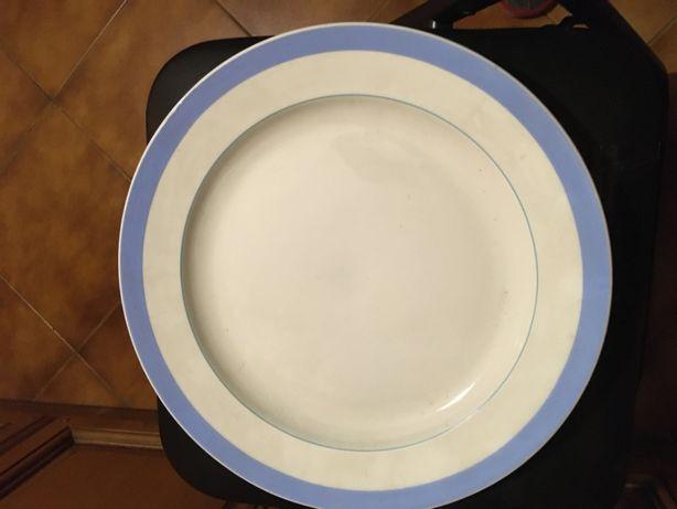 """Фарфоровое блюдо большое """"З и К"""""""