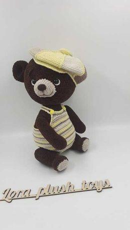 Мягкая игрушка ручной работы медведь