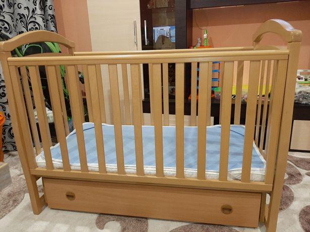 Кроватка детская Верес- Соня ЛД 6 - Бук