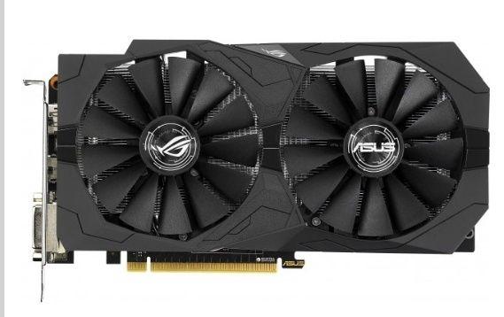 Asus PCI-Ex GeForce GTX 1050 Ti ROG Strix 4GB