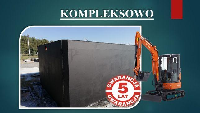 Szamba/Szambo betonowe Zbiorniki/Zbiornik betonowy Żyrardów Morgi Krze