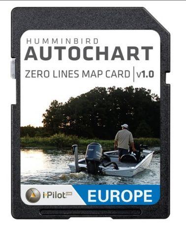 Карта AutoChart ZeroLines Humminbird, Solix, Helix