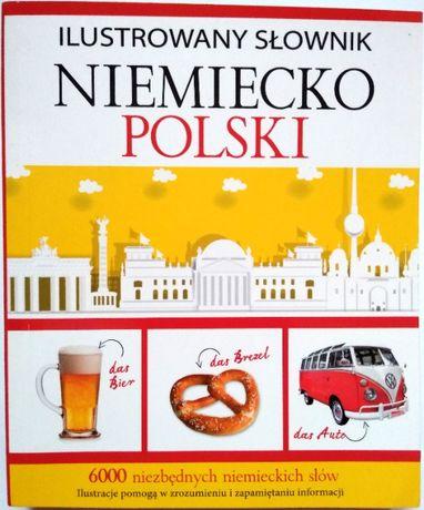 Ilustrowany słownik niemiecko-polski Olesiejuk