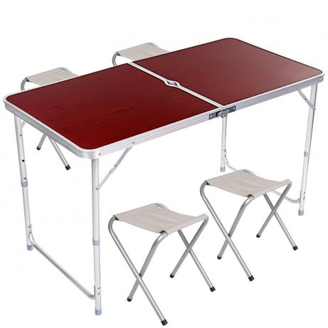 Стол +4 стула | Стол для пикника | Стол для природы | Раскладной стол