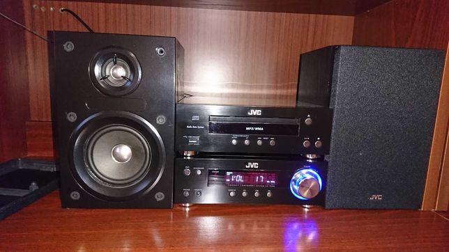 wieza jvc stereo usb aux mp3 wma pilot