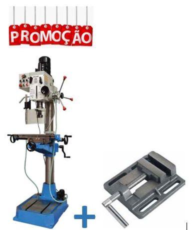Engenho de Furar/Fresar de Carretos + Prensa de Fixação Standard 150mm