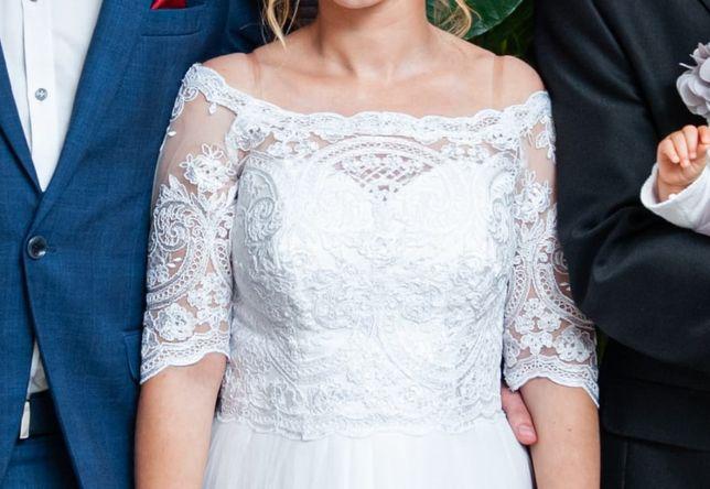 Suknia Ślubna - Ewa Stawna A20218, wzrost 153cm