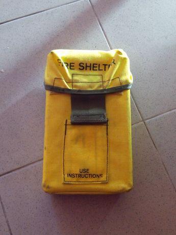 Vendo fire shelter novo