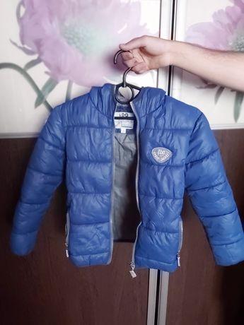 Куртка для мальчика iDO подросток демисезонная стеганная утепленная
