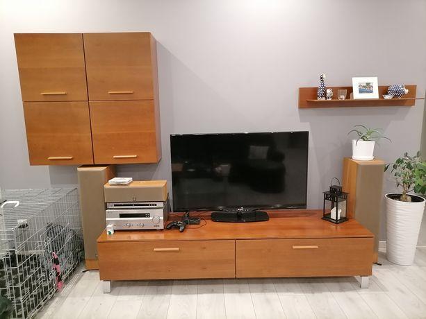 Komplet mebli fornirowanych BRW Reset szafka tv