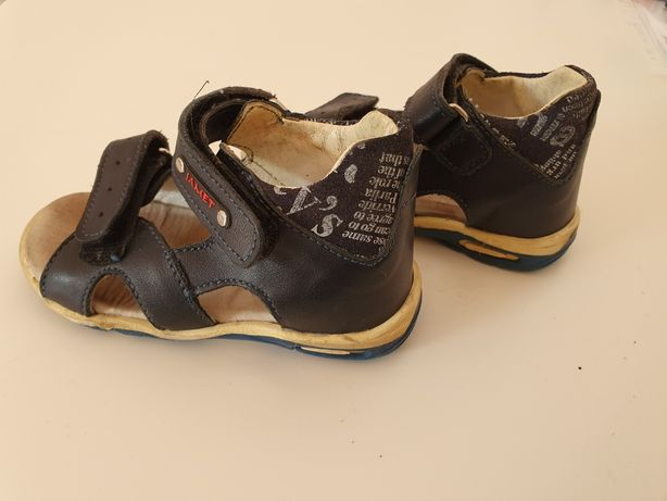 Skórzane sandały JAMET rozmiar 22
