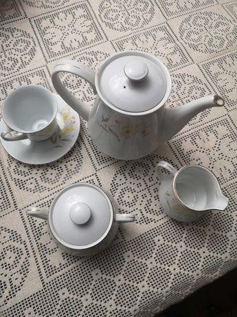 serviço de chá nunca usado