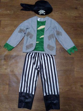 костюм пират 3-4 года 104 рост мальчику карнавальный