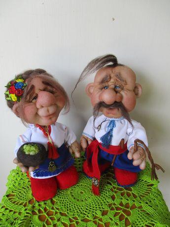 """Интерьерные куклы """"Козак и украиночка """" Ручная работа"""