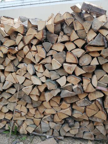 Drewno opałowe buk, brzoza +miękkie rozpalkowe