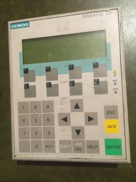 Simatic OP7 panel operatorski siemens