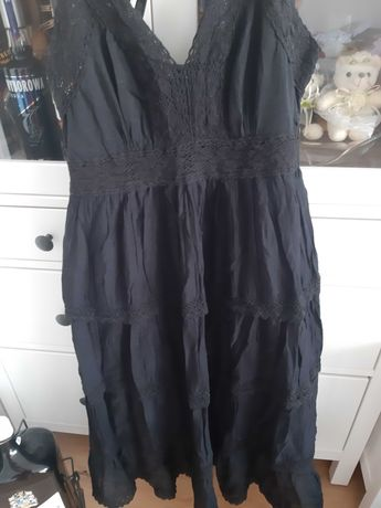 Sukienka letniap czarna