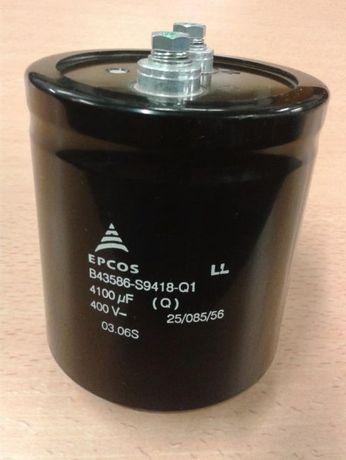 Condensador electrolitico Epcos 4100 uF 400V