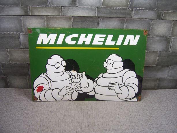 Michelin reklama szyld blacha emaliowana