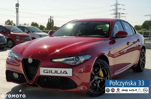 Alfa Romeo Giulia Veloce Q4 At 2.0 280 Km |Czerwony Alfa|Brązowa