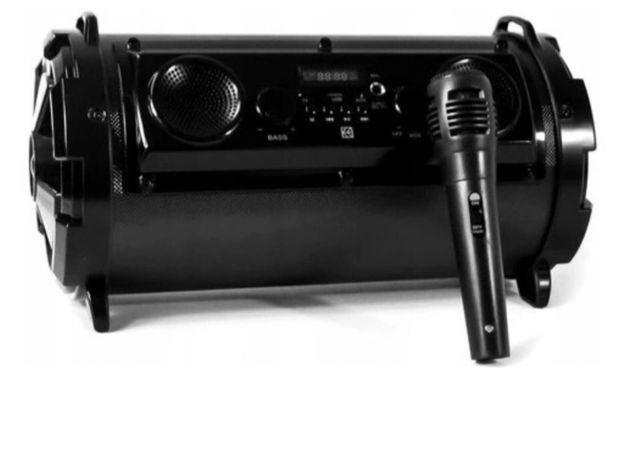 Glosnik bezprzewodowy karaoke HYKKER nowy radio