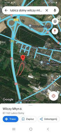 Działki przemysłowo budowlane Lubicz Dolny koło Torunia