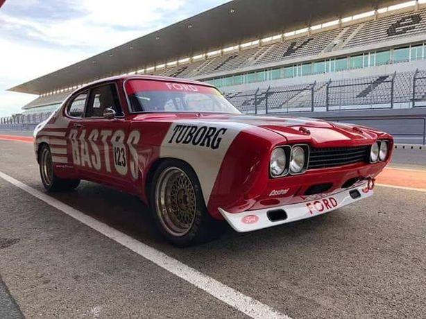 Avental spoiler raspadeira Ford Capri