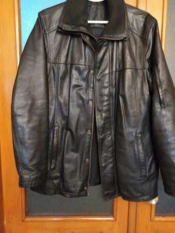 100% натуральная кожная куртка NEXT. P. 50.