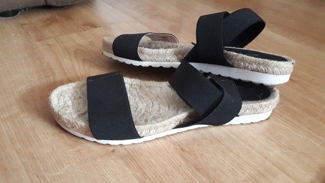 Sandały damskie 37 Italy  na gumce elastyczne