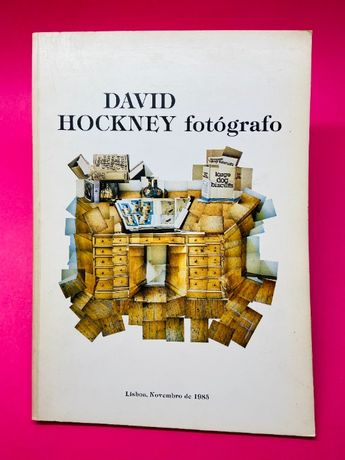 David Hockey Fotógrafo - MUITO RARO
