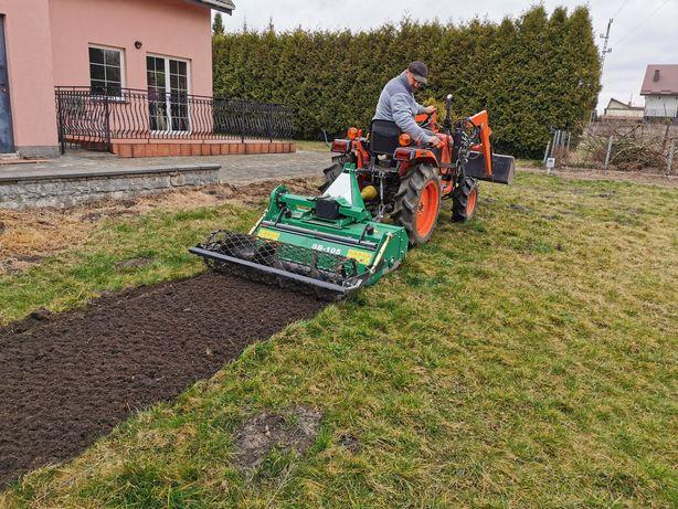 Usługi glebogryzarką separacyjną - usługi ogrodnicze