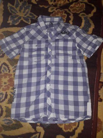 Летняя рубашка с короткими рукавами мальчику Benetton