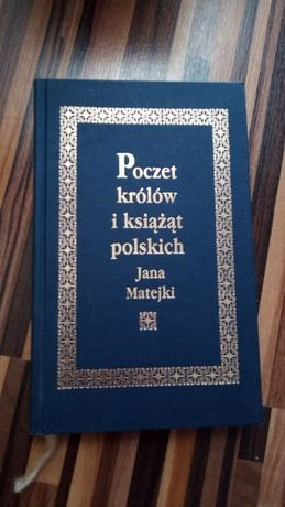 Poczet królów i książąt polskich Jana Matejki twarda okładka